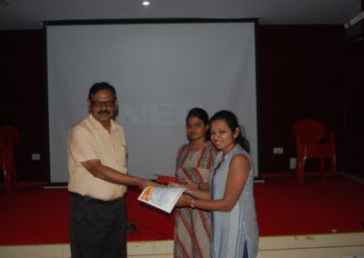 Winners of Postgraduate Quiz