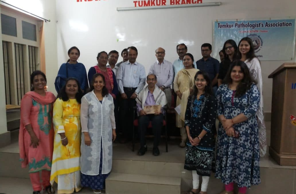 JAN 2019: Report of event held by Tumkur Pathologists Association