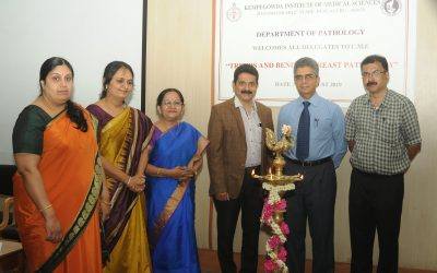 "AUG 2019:  REPORT ON CME AND SLIDE SEMINAR ""TRENDS AND BENDS IN BREAST PATHOLOGY"" held at KIMS, Bengaluru."