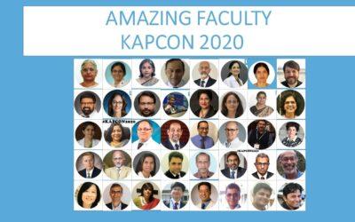 OCTOBER 2020: REPORT OF KAPCON2020
