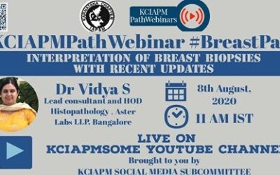 AUGUST 2020: REPORT OF #KCIAPMPathWebinar On #BreastPath topic CONDUCTED ON  On 8th August 2020
