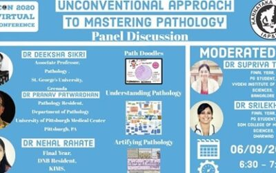 """SEPTEMBER 2020: Report of Panel discussion by our Resident Ambassadors on the topic """" Unconventional Approach to Mastering Pathology """" ON 6thSeptember 2020"""